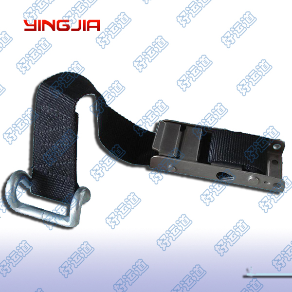 04706 Overcentre buckle with webbing and hook